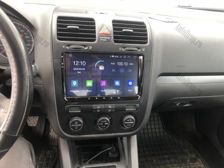 Navigatie Volkswagen, Skoda, Seat, Android 10, OCTACORE|PX5| / 4GB RAM + 64GB ROM, 9 Inch - AD-BGWVW9P523