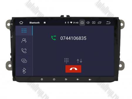 Navigatie Volkswagen, Skoda, Seat, Android 10, OCTACORE|PX5| / 4GB RAM + 64GB ROM, 9 Inch - AD-BGWVW9P55