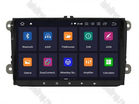 Navigatie Volkswagen, Skoda, Seat, Android 10, OCTACORE|PX5| / 4GB RAM + 64GB ROM, 9 Inch - AD-BGWVW9P53