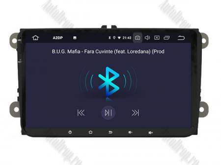 Navigatie Volkswagen, Skoda, Seat, Android 10, OCTACORE|PX5| / 4GB RAM + 64GB ROM, 9 Inch - AD-BGWVW9P56