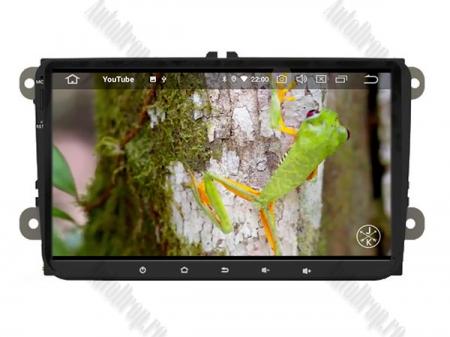 Navigatie Volkswagen, Skoda, Seat, Android 10, OCTACORE|PX5| / 4GB RAM + 64GB ROM, 9 Inch - AD-BGWVW9P515