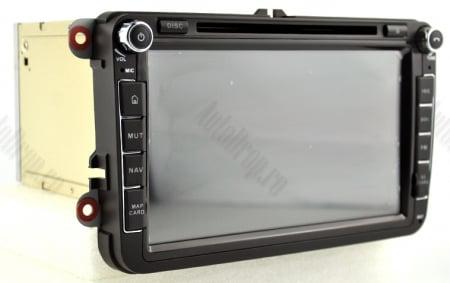 [Pachet] Navigatie Skoda Octavia 2 Facelift, Android 9, OCTACORE|PX5| / 4GB RAM + 64 ROM cu DVD, 8 Inch -  AD-BGWSKDR8P516