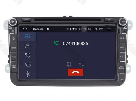 Navigatie Volkswagen, Skoda, Seat, Android 10, OCTACORE|PX5| / 4GB RAM + 64 ROM cu DVD, 8 Inch -  AD-BGWVW8P54