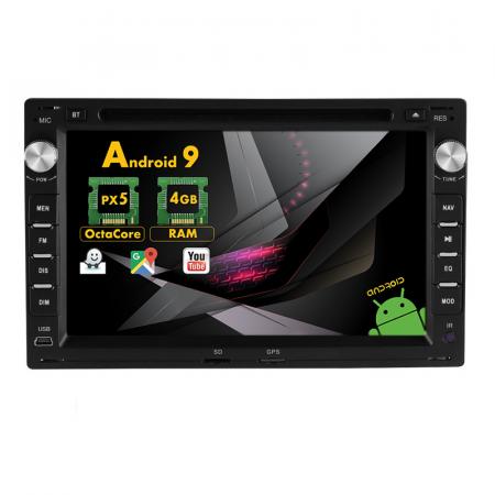 Navigatie Skoda Superb / Octavia I / Fabia, Android 9, Octacore / 4GB RAM , 7 Inch - AD-BGX42S0