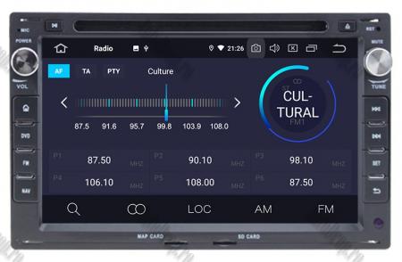 Navigatie Volkswagen, Android 10, Passat B5 / Golf IV / Sharan / T4-T5 / Jetta / Polo, QUADCORE|PX30| / 2GB RAM + 16GB ROM cu DVD, 7 Inch - AD-BGWVWB5P35