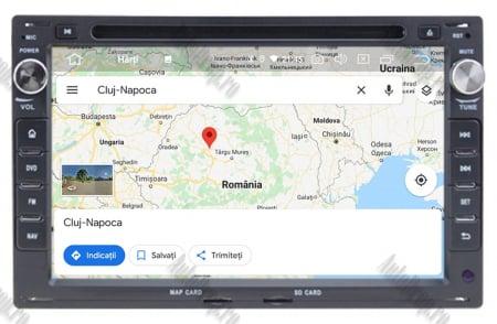 Navigatie Volkswagen, Android 10, Passat B5 / Golf IV / Sharan / T4-T5 / Jetta / Polo, QUADCORE|PX30| / 2GB RAM + 16GB ROM cu DVD, 7 Inch - AD-BGWVWB5P313