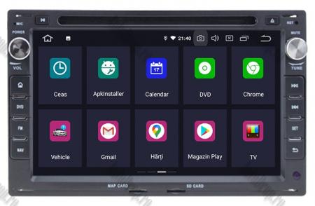 Navigatie Volkswagen, Android 10, Passat B5 / Golf IV / Sharan / T4-T5 / Jetta / Polo, QUADCORE|PX30| / 2GB RAM + 16GB ROM cu DVD, 7 Inch - AD-BGWVWB5P32