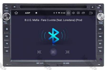 Navigatie Volkswagen, Android 10, Passat B5 / Golf IV / Sharan / T4-T5 / Jetta / Polo, QUADCORE|PX30| / 2GB RAM + 16GB ROM cu DVD, 7 Inch - AD-BGWVWB5P34
