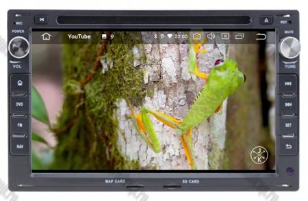 Navigatie Volkswagen, Android 10, Passat B5 / Golf IV / Sharan / T4-T5 / Jetta / Polo, QUADCORE|PX30| / 2GB RAM + 16GB ROM cu DVD, 7 Inch - AD-BGWVWB5P316