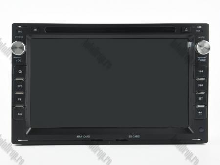 Navigatie Volkswagen, Android 10, Passat B5 / Golf IV / Sharan / T4-T5 / Jetta / Polo, QUADCORE|PX30| / 2GB RAM + 16GB ROM cu DVD, 7 Inch - AD-BGWVWB5P320