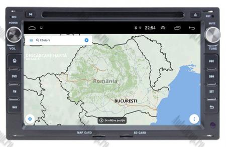 Navigatie Volkswagen, Android 10, Passat B5 / Golf IV / Sharan / T4-T5 / Jetta / Polo, QUADCORE|PX30| / 2GB RAM + 16GB ROM cu DVD, 7 Inch - AD-BGWVWB5P315