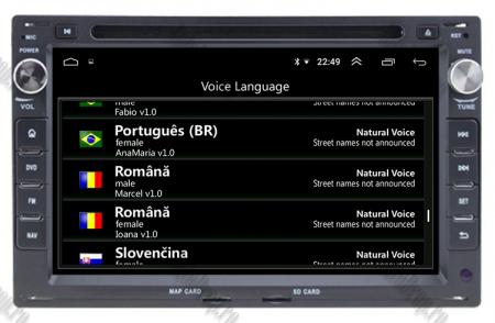 Navigatie Volkswagen, Android 10, Passat B5 / Golf IV / Sharan / T4-T5 / Jetta / Polo, QUADCORE|PX30| / 2GB RAM + 16GB ROM cu DVD, 7 Inch - AD-BGWVWB5P39
