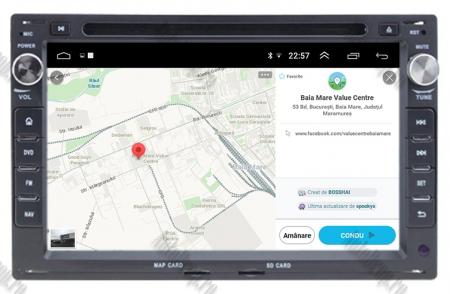 Navigatie Volkswagen, Android 10, Passat B5 / Golf IV / Sharan / T4-T5 / Jetta / Polo, QUADCORE|PX30| / 2GB RAM + 16GB ROM cu DVD, 7 Inch - AD-BGWVWB5P312