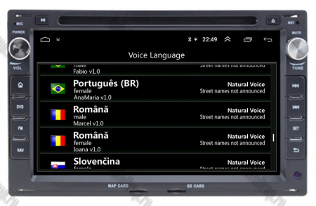 Navigatie Volkswagen, Android 10, Passat B5 / Golf IV / Sharan / T4-T5 / Jetta / Polo, Octacore|PX5| / 4GB RAM cu DVD, 7 Inch - AD-BGWVWB5P58