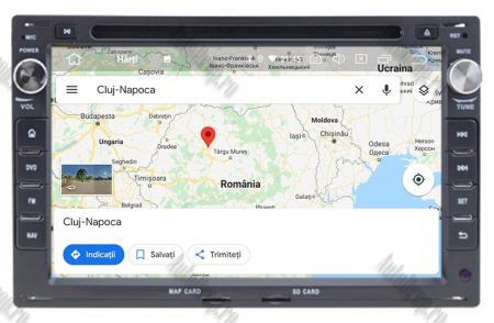 Navigatie Volkswagen, Android 10, Passat B5 / Golf IV / Sharan / T4-T5 / Jetta / Polo, Octacore|PX5| / 4GB RAM cu DVD, 7 Inch - AD-BGWVWB5P511