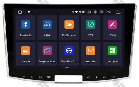 Navigatie Volkswagen PASSAT B6/B7/CC, Android 9, OCTACORE|PX5| / 4GB RAM + 64GB ROM, 10.1 inch - AD-BGWVW10P51