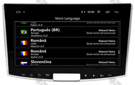 Navigatie Volkswagen PASSAT B6/B7/CC, Android 9, OCTACORE|PX5| / 4GB RAM + 64GB ROM, 10.1 inch - AD-BGWVW10P510