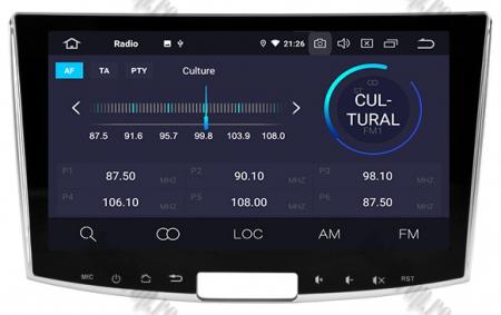 Navigatie Volkswagen PASSAT B6/B7/CC, Android 9, OCTACORE|PX5| / 4GB RAM + 64GB ROM, 10.1 inch - AD-BGWVW10P54