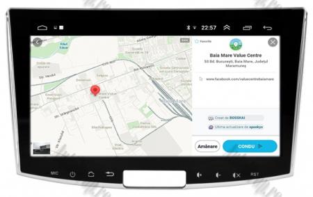 Navigatie Volkswagen PASSAT B6/B7/CC, Android 9, OCTACORE|PX5| / 4GB RAM + 64GB ROM, 10.1 inch - AD-BGWVW10P514