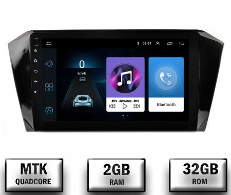 Navigatie Volkswagen Passat B8, Android 9.1, QUADCORE|MTK| / 2GB RAM + 32GB ROM, 10.1 Inch - AD-BGPVWB8MTK2GB0
