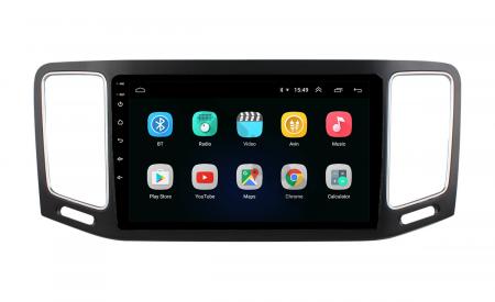 Navigatie Volkswagen Sharan (2012-2018), Android 9.1, QUADCORE|MTK| / 1GB RAM + 16GB ROM, 9 Inch - AD-BGPSR12MTK2