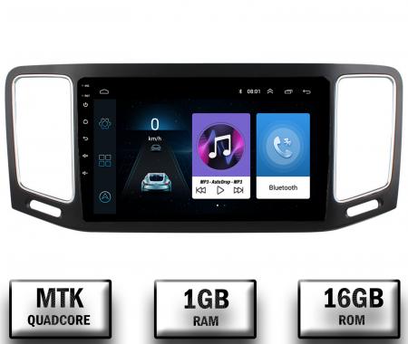 Navigatie Volkswagen Sharan (2012-2018), Android 9.1, QUADCORE|MTK| / 1GB RAM + 16GB ROM, 9 Inch - AD-BGPSR12MTK0
