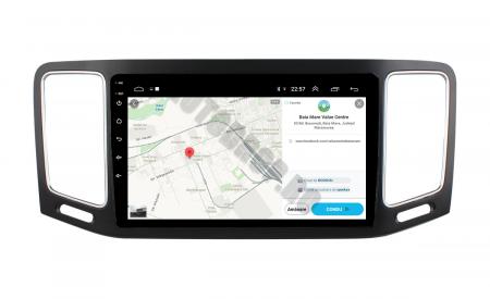 Navigatie Volkswagen Sharan (2012-2018), Android 9.1, QUADCORE|MTK| / 1GB RAM + 16GB ROM, 9 Inch - AD-BGPSR12MTK12