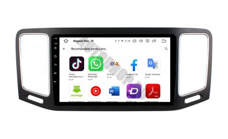 Navigatie Volkswagen Sharan (2012-2018), Android 9.1, QUADCORE|MTK| / 1GB RAM + 16GB ROM, 9 Inch - AD-BGPSR12MTK8