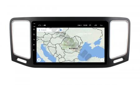 Navigatie Volkswagen Sharan (2012-2018), Android 9.1, QUADCORE|MTK| / 2GB RAM + 32GB ROM, 9 Inch - AD-BGPSR12MTK2GB13
