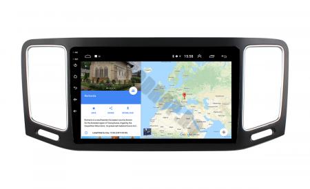 Navigatie Volkswagen Sharan (2012-2018), Android 9.1, QUADCORE|MTK| / 1GB RAM + 16GB ROM, 9 Inch - AD-BGPSR12MTK11