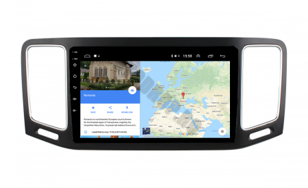 Navigatie Volkswagen Sharan (2012-2018), Android 9.1, QUADCORE|MTK| / 2GB RAM + 32GB ROM, 9 Inch - AD-BGPSR12MTK2GB11