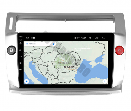 Navigatie Citroen C4 (2004-2014), Android 9.1, QUADCORE|MTK| / 2GB RAM + 32GB ROM, 9 Inch - AD-BGPC4MTK - Copie11