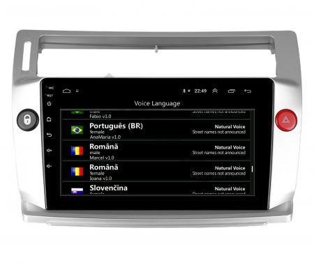 Navigatie Citroen C4 (2004-2014), Android 9.1, QUADCORE|MTK| / 2GB RAM + 32GB ROM, 9 Inch - AD-BGPC4MTK - Copie12