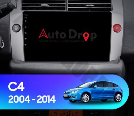 Navigatie Citroen C4 (2004-2014), Android 9.1, QUADCORE|MTK| / 2GB RAM + 32GB ROM, 9 Inch - AD-BGPC4MTK - Copie15