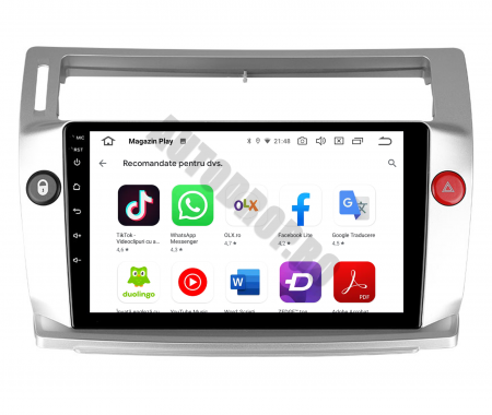 Navigatie Citroen C4 (2004-2014), Android 9.1, QUADCORE|MTK| / 2GB RAM + 32GB ROM, 9 Inch - AD-BGPC4MTK - Copie5