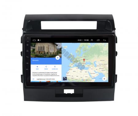 Navigatie Toyota Land Cruiser 200 (2007-2015), Android 9.1, QUADCORE|MTK| / 2GB RAM + 32GB ROM, 9 Inch - AD-BGPLC07MTK2GB11
