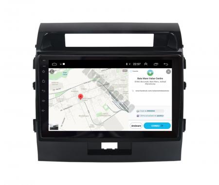 Navigatie Toyota Land Cruiser 200 (2007-2015), Android 9.1, QUADCORE|MTK| / 2GB RAM + 32GB ROM, 9 Inch - AD-BGPLC07MTK2GB12