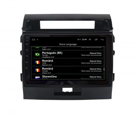 Navigatie Toyota Land Cruiser 200 (2007-2015), Android 9.1, QUADCORE|MTK| / 2GB RAM + 32GB ROM, 9 Inch - AD-BGPLC07MTK2GB14