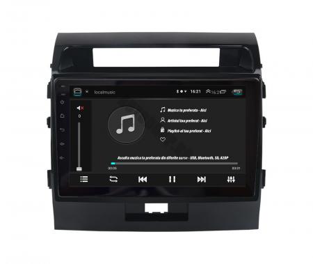 Navigatie Toyota Land Cruiser 200 (2007-2015), Android 9.1, QUADCORE|MTK| / 2GB RAM + 32GB ROM, 9 Inch - AD-BGPLC07MTK2GB5
