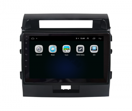 Navigatie Toyota Land Cruiser 200 (2007-2015), Android 9.1, QUADCORE|MTK| / 2GB RAM + 32GB ROM, 9 Inch - AD-BGPLC07MTK2GB4