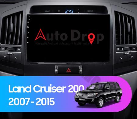 Navigatie Toyota Land Cruiser 200 (2007-2015), Android 9.1, QUADCORE|MTK| / 2GB RAM + 32GB ROM, 9 Inch - AD-BGPLC07MTK2GB18
