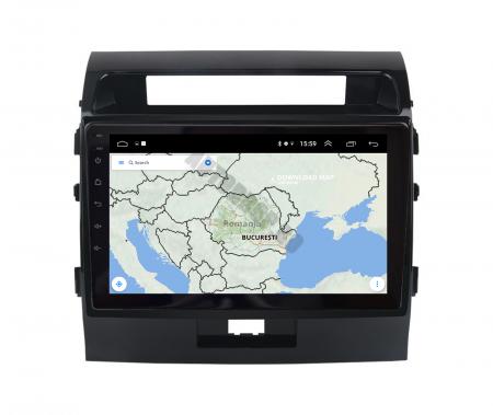 Navigatie Toyota Land Cruiser 200 (2007-2015), Android 9.1, QUADCORE|MTK| / 2GB RAM + 32GB ROM, 9 Inch - AD-BGPLC07MTK2GB13