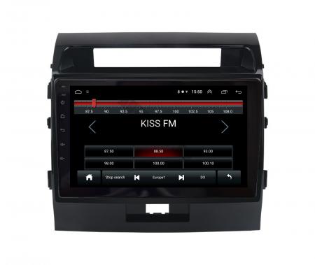 Navigatie Toyota Land Cruiser 200 (2007-2015), Android 9.1, QUADCORE|MTK| / 2GB RAM + 32GB ROM, 9 Inch - AD-BGPLC07MTK2GB1