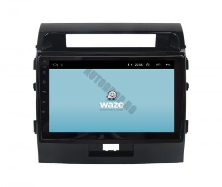 Navigatie Toyota Land Cruiser 200 (2007-2015), Android 9.1, QUADCORE|MTK| / 2GB RAM + 32GB ROM, 9 Inch - AD-BGPLC07MTK2GB10