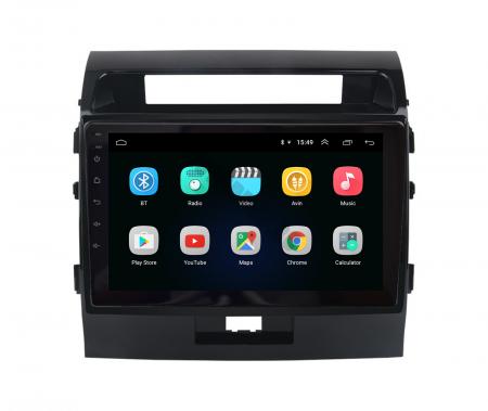 Navigatie Toyota Land Cruiser 200 (2007-2015), Android 9.1, QUADCORE|MTK| / 2GB RAM + 32GB ROM, 9 Inch - AD-BGPLC07MTK2GB2