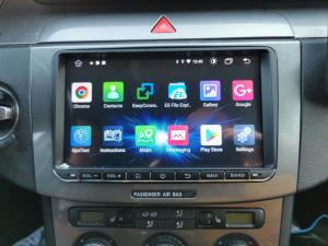Navigatie Volkswagen, Skoda, Seat, Android 10, OCTACORE T8  / 4GB RAM + 128 ROM, 9 Inch - AD-BGMVW9T812