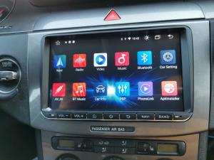 Navigatie Volkswagen, Skoda, Seat, Android 10, OCTACORE T8  / 4GB RAM + 128 ROM, 9 Inch - AD-BGMVW9T810