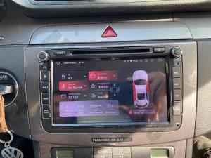 Navigatie Volkswagen, Skoda, Seat, Android 10, QUADCORE|PX30| / 2GB RAM + 16 ROM cu DVD, 8 Inch - AD-BGWVW8P323