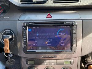 Navigatie Volkswagen, Skoda, Seat, Android 10, QUADCORE|PX30| / 2GB RAM + 16 ROM cu DVD, 8 Inch - AD-BGWVW8P324