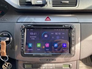 Navigatie Volkswagen, Skoda, Seat, Android 10, QUADCORE|PX30| / 2GB RAM + 16 ROM cu DVD, 8 Inch - AD-BGWVW8P321